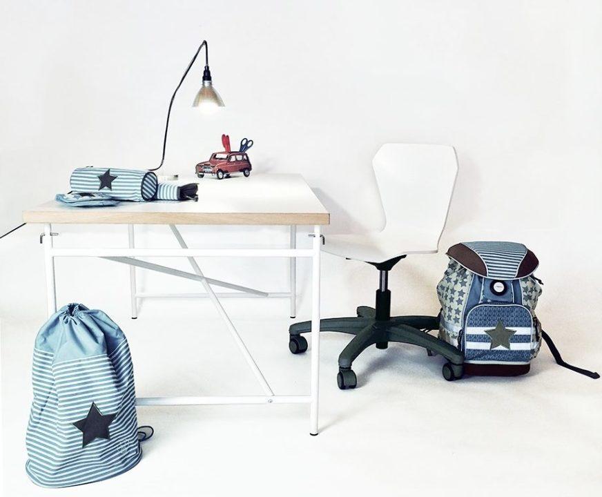 DAS KINDERZIMMER - Aktion zum Schulanfang: Mitwachsender Schreibtisch, Schreibtischstuhl und Schulranzenset